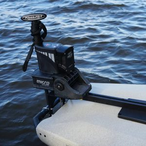 POWER-POLE®-MOUNT-FOR-HOBIE®-PRO-ANGLER-for-shallow-water-anchor-kayak-or-fishing-boat-by-Boonedox